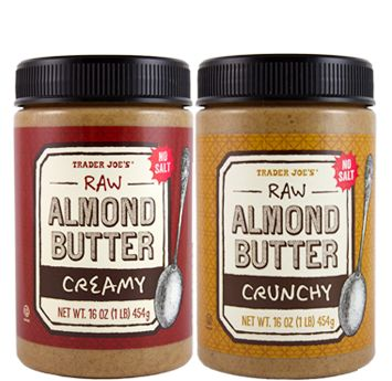 Our new Almond Butters are completely naked. They're just plain old almonds, ground to perfection, and happily basking in all their glory. These nuts are au naturale, with nary a salt grain...