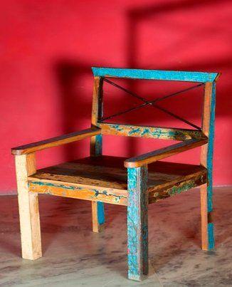Silla Vintage Art 5088 52x50x95cm