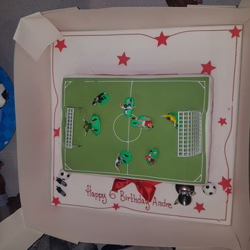 Football Pitch Cake Football Cake