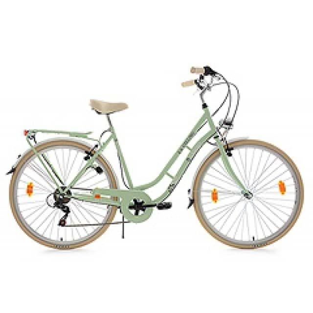 "Damenfahrrad Cityrad 28"" Casino grün 6 Gänge RH 53 cm KS Cycling - KS Cycling"