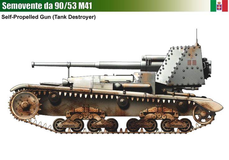 Semovente M41 da 90/53 Tank Destroyer