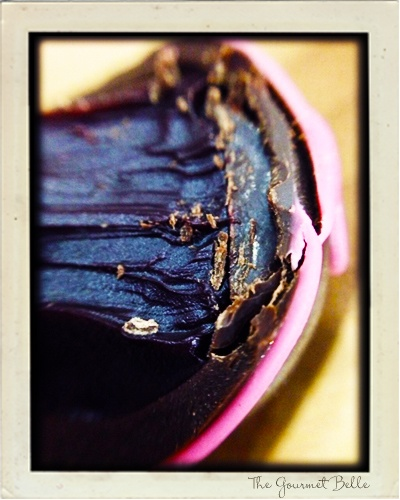 Intensely flavoured Wild Berry and Lavender Chocolate Truffle.