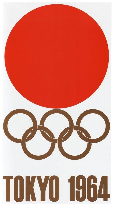 1964 Tokyo Olympics Posters by Yusaku Kamekura -- Modern Japanese Graphic Art