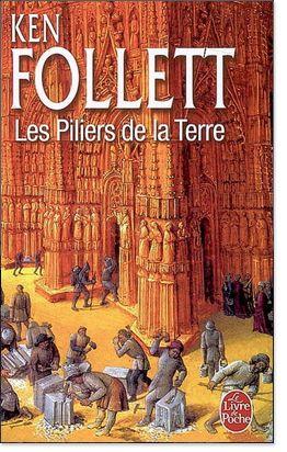 """""""Les Piliers de la Terre"""", Ken Follett. Différent de ses autres ouvrages mais véritablement passionnant. Son meilleur titre, assurément."""