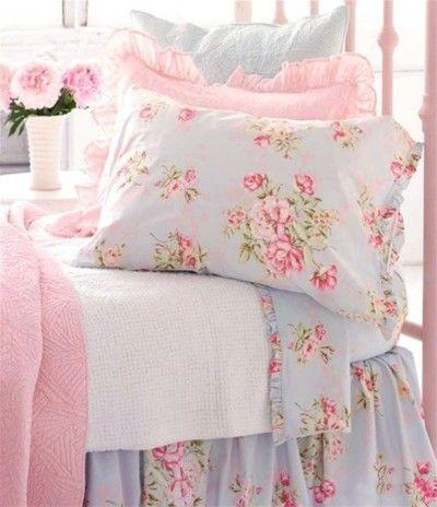 pretty: Bedding, Girl Room, Dream, Shabby Chic, Girls Room, Bedrooms, Shabbychic, Floral, Bedroom Ideas