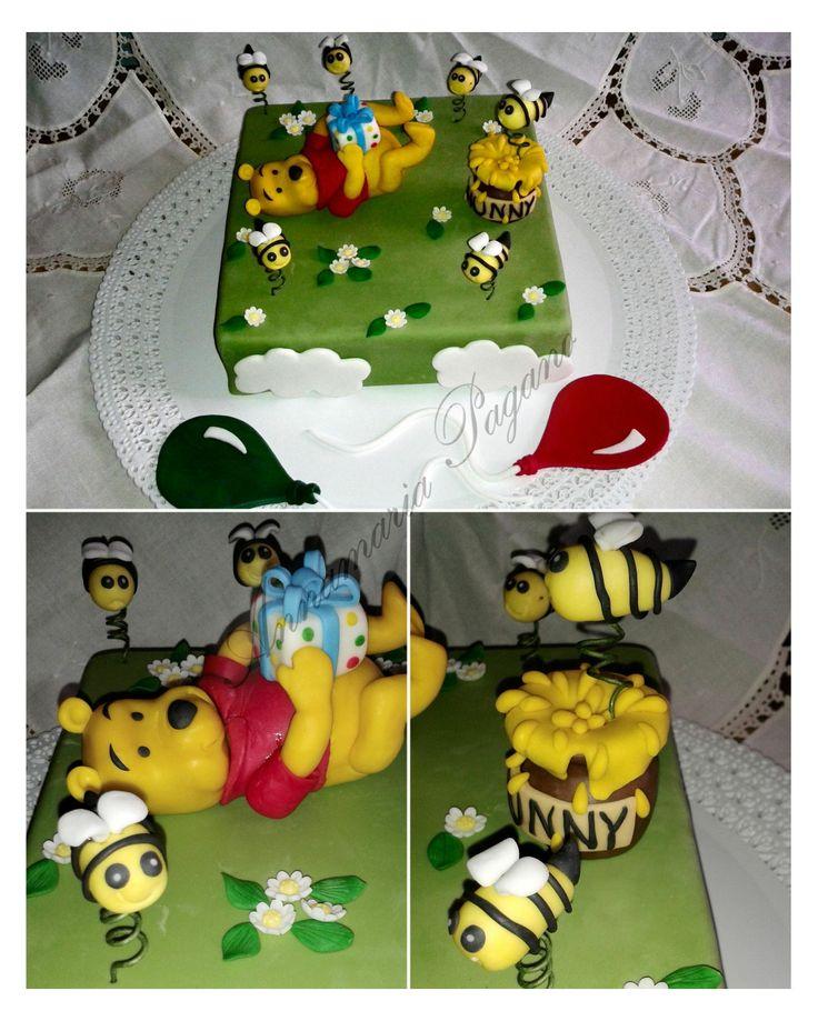 Winnie the Pooh Surprise! Topper per una torta del mitico orsetto Winnie the Pooh!