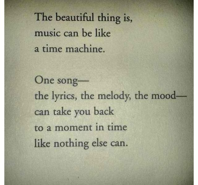 Exactly one of the best things about music and why it is so helpful with those who have Alzheimer's. Music helped my  mom during the entire journey.