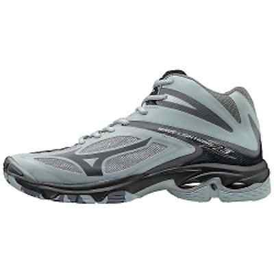 Clothing 159130: Mizuno Wave Lightning Z3 Mid Men Volleyball Shoe Grey -> BUY IT NOW ONLY: $112.99 on eBay!
