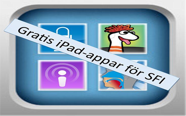 Användbara gratis ipad-appar för SFI