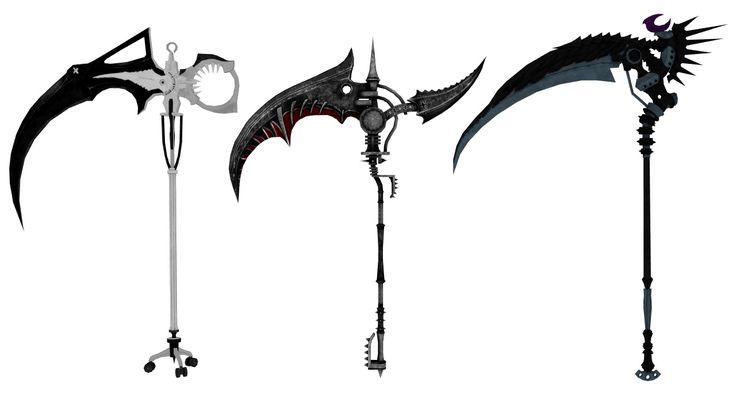 death weapon scythe - photo #6