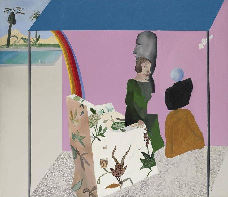California Art Collector, David Hockney, 1964