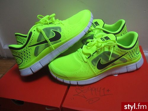 nike free run 3 lime green womens loungewear