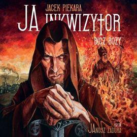 """Jacek Piekara, """"Bicz Boży"""", Biblioteka Akustyczna, Warszawa 2014. Jedna płyta CD, 15 godz. 36 min. Czyta Janusz Zadura."""