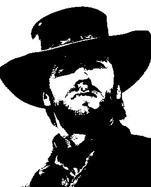 Clint Eastwood And Silhouette On Pinterest