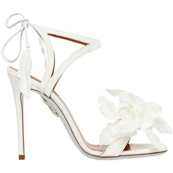 The 25  best White high heel sandals ideas on Pinterest | Sparkly ...
