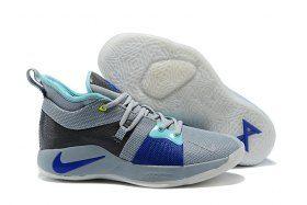 d74d1976bac Ventilation Nike PG 2 EP Paul George Pure Platinum Wolf Grey Aurora Neo  Turquoise AJ2039 002 Men s Basketball Shoes