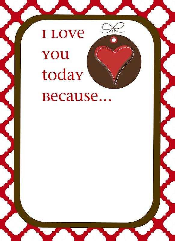 valentine printable notes