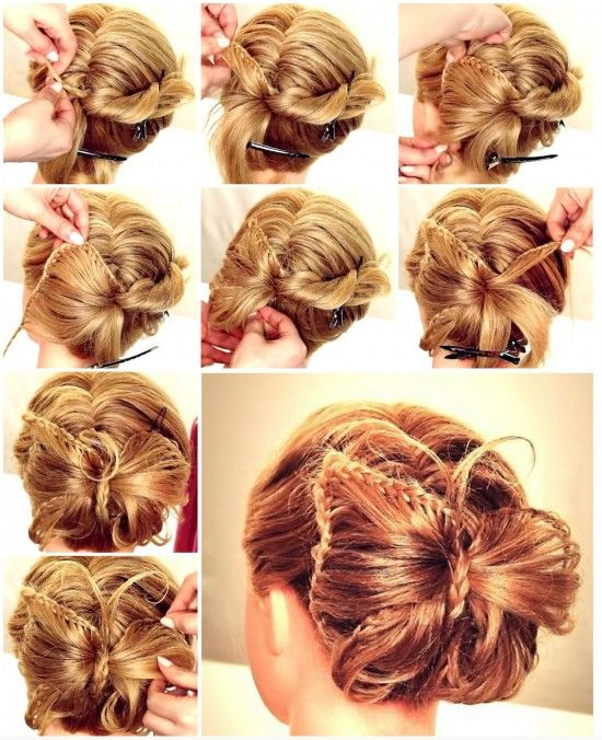 Not a hair cut, but it's cool.  butterfly braid