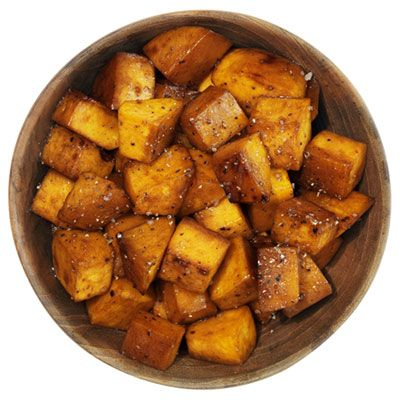 great side dish! Balsamic honey roasted potatoes.