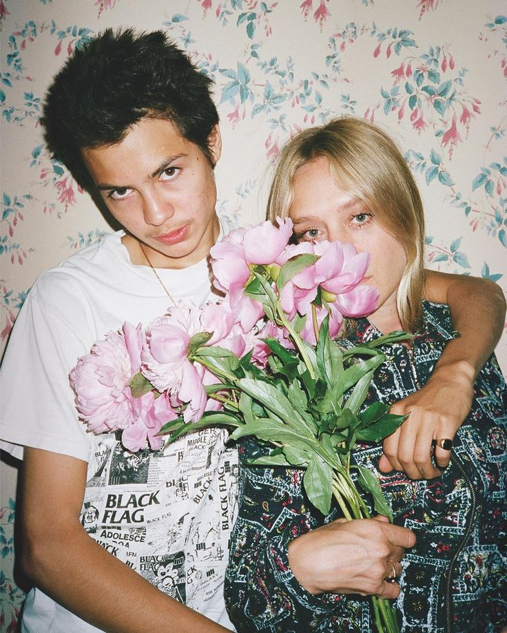 Chloë Sevigny and Sean Pablo by William Strobeck for Let's Panic magazine issue #3.