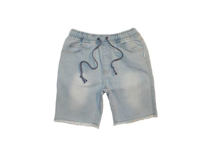 Duke Of London - Paros Shorts - Light Wash Denim