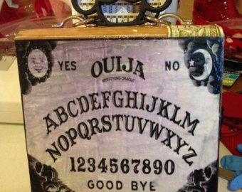 Ouija Board Cigar Box Purse