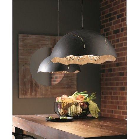 Suspension luminaire zinc for Interieur zinc