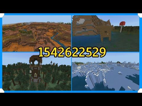 Seed Showcase 1 Minecraft Bedrock Edition YouTube in