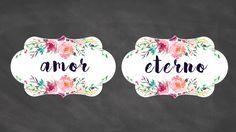 Plaquinhas para Cadeira de Casamento – Download | http://blogdamariafernanda.com/plaquinhas-para-cadeira-de-casamento-download