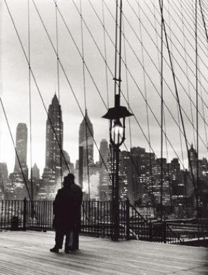 Mario De Biasi, Brooklyn Bridge, 1955.