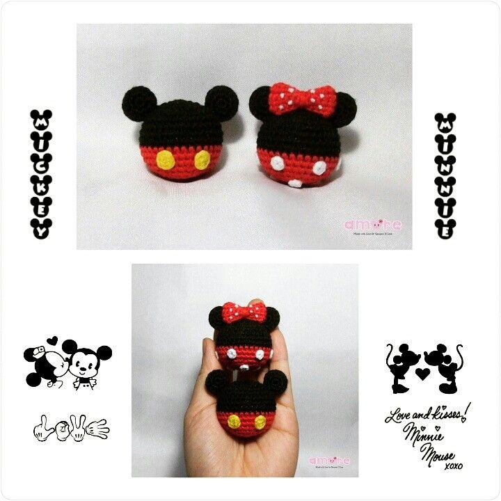 Amigurumi mickey and minnie ball | Amigurumi ^.^ | Pinterest ...