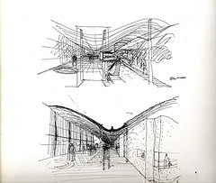 Sketch. Magney House | Glenn Murcutt
