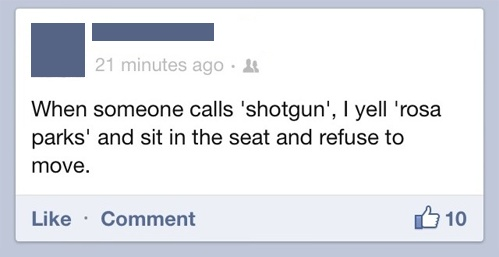 LOL <3Rosa Parks, Call Shotguns, Tumblr Funny, So Funny