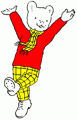 Rupert the bear used to watch this show and also read the Annuals... It is now a collectors dream...