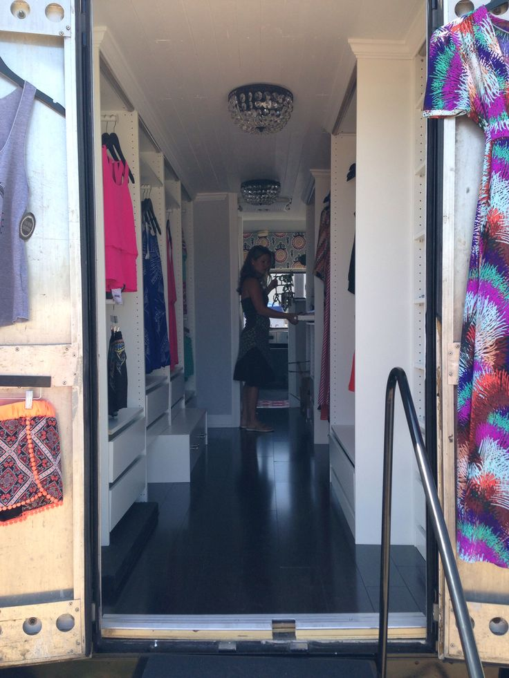 109 best inside a mobile boutique fashion truck images for Mobel stylisch