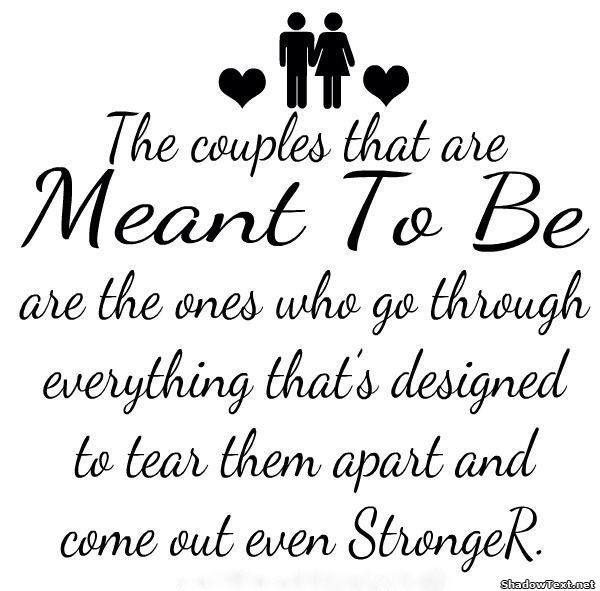 Wonderful Love Quotes About Waiting: The Couples That Are Meant To Be
