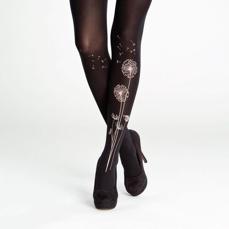 virivee: Our beloved Dandelion tights.   50 denier, matte, opaque, soft touch microfibre tights.
