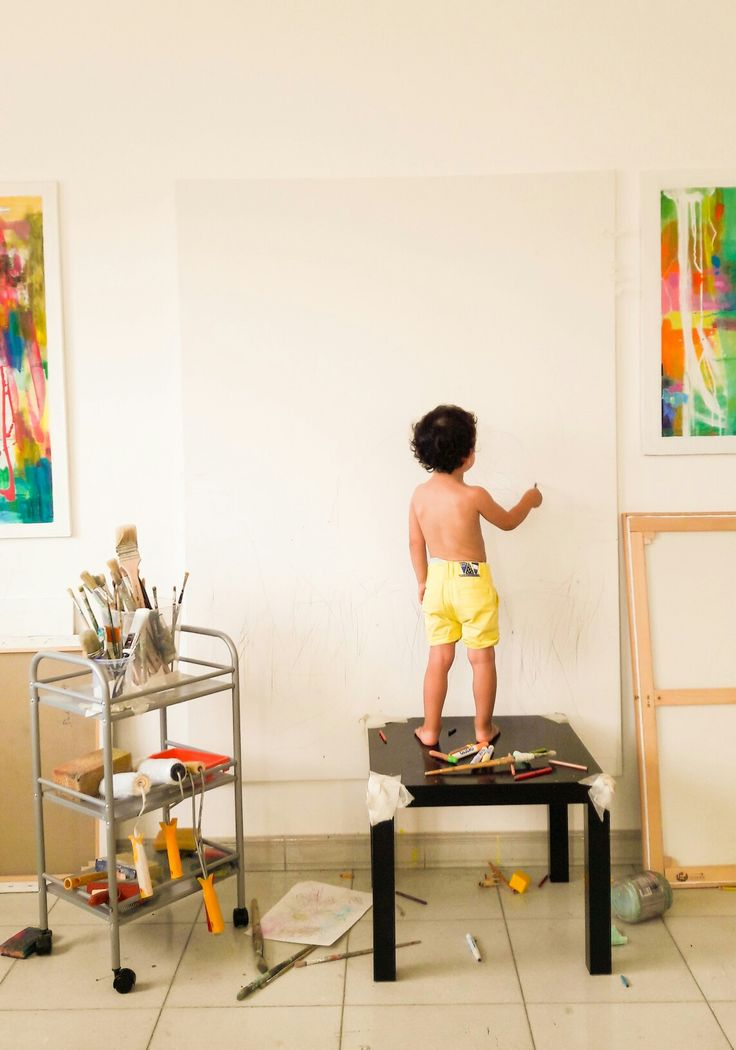 my son Giulio at work  in my studio