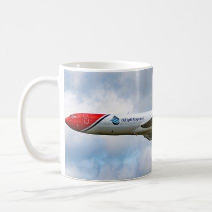 #Boeing 727-200 Oil Spill Response Coffee Mug - #office #gifts #giftideas #business