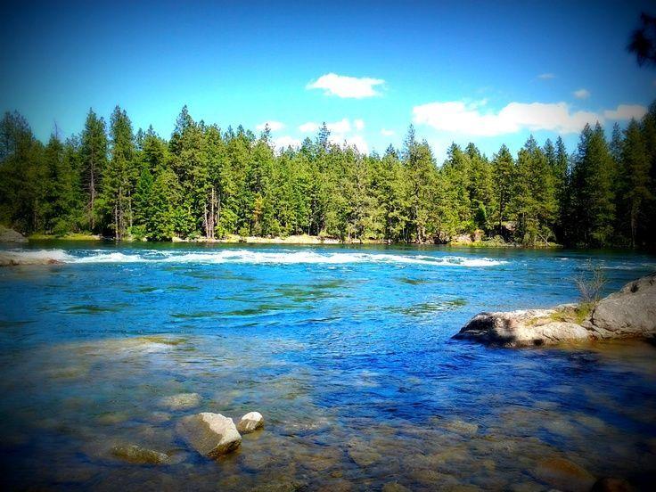 post falls, idaho sites to see | ... at the Spokane River, at Corbin Park, in Post Falls, Idaho! Beautiful