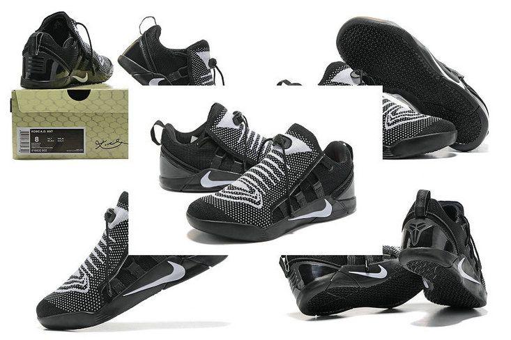 quality design f1379 1a4b4 Discount Nike Kobe AD NXT Flyknit Oreo Black White Kobe Shoes, Shoes 2017,  New