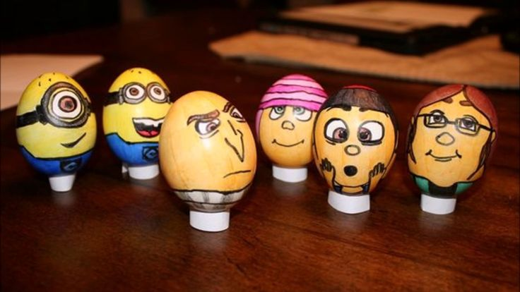 Most Creative Easter Eggs Cartoon Designs ever seen