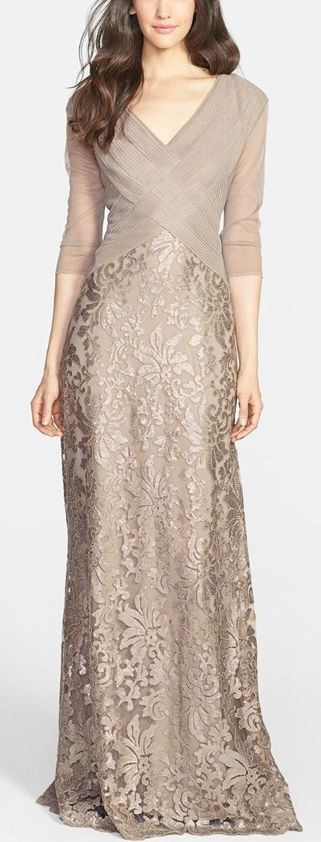 the prettiest Mother-of-the-Bride dress! #fashion #girls #women's #youthnotebook #ynb