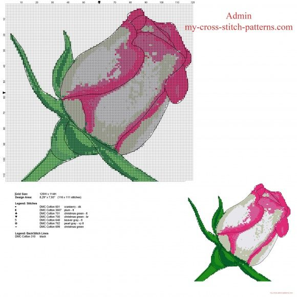 cross-stitch (free)(roses) patterns - Yahoo Image Search Results