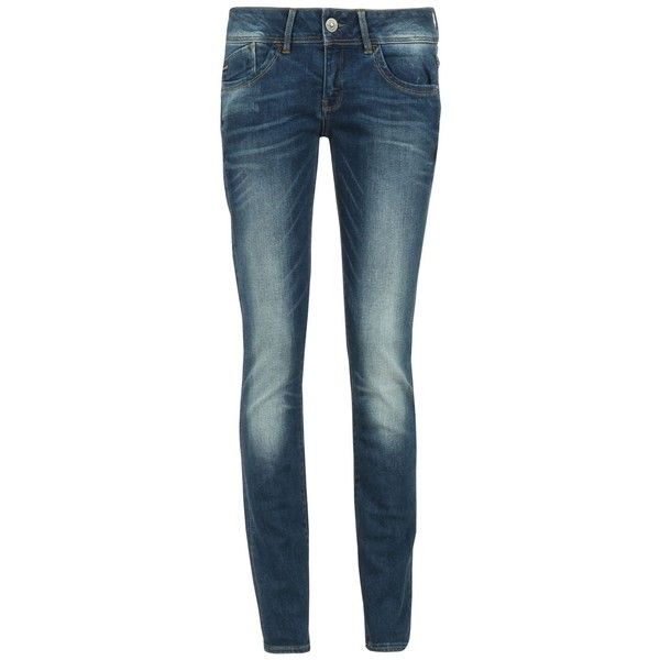 G Star Lynn MW Skinny Jeans ❤ liked on Polyvore featuring jeans, blue skinny jeans, skinny leg jeans, g star raw jeans, blue jeans and skinny fit jeans