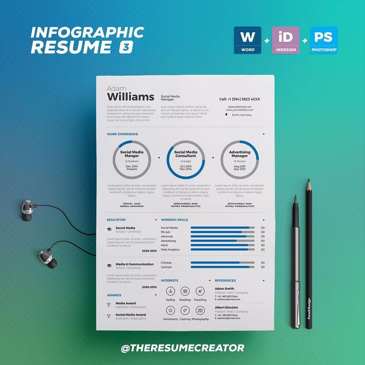 17 best TheResumeCreator is on #Instagram images on Pinterest Ps - biography template microsoft word
