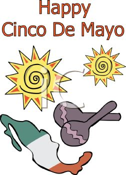 iCLIPART - Cinco De Mayo greeting