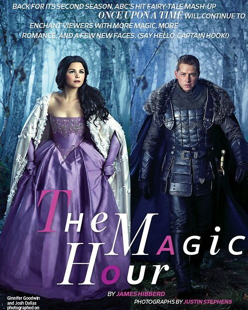 EW Once Upon a Time Article - once-upon-a-time Photo - Snow White and Prince Charming