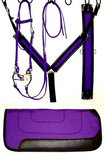 neon purple horse tack | purple black turquoise neon lime green neon orange neon pink neon ...