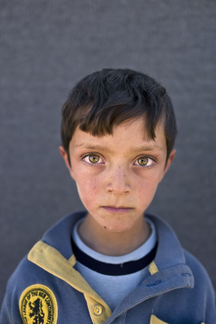 Portraits of Syrian child refugees – in pictures